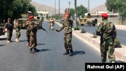 Forcat e sigurisë kanë rrethuar vendin ku ndodhi shpërthimi në Kabul më 1 korrik 2019
