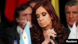 Кристина Киршнер, президент Аргентины.