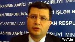 Руководитель пресс-службы Министерства иностранных дел Азербайджана Эльман Абдуллаев, 2012
