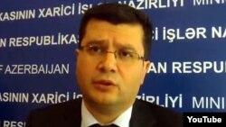 Әзербайжан сыртқы істер мниистрлігінің өкілі Эльман Абдуллаев.