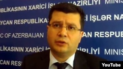 Руководитель пресс-службы МИД Азербайджана Эльман Абдуллаев
