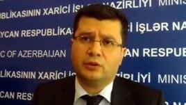 Azerbaijan -- Foreign Ministry spokesman Elman Abdullayev, 2012