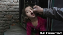 Pakistan and Afghanistan are the only two countries in the world where polio is endemic. (file photo)