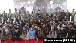 زندانیان رها شده از زندان طالبان در فاریاب