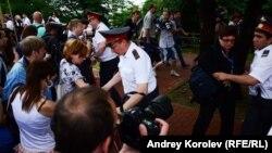 Сочи. Полиция разгоняет журналистов