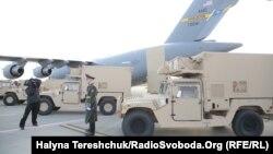 Ілюстраційне фото. Армія отримала спеціальну зброю від США. Львів, 14 листопада 2015 року