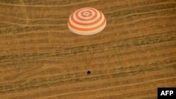 Kazakhstan -- Soyuz TMA-22 capsule