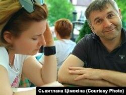 З акторам-купалаўцам Алегам Гарбузам