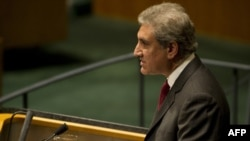 Pakistani Foreign Minister Shah Mehmood Qureshi (file photo)