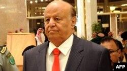 Йеменнің хуситтер биліктен қуған президенті Абд Раббу Мансур Хади. Эр-Рияд, мамыр 2015 жыл.