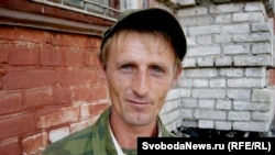 Andrei Popov after his surprise return home in August, when he claimed he'd been abducted and enslaved at a North Caucasus brick factory.