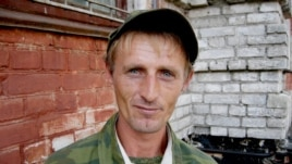 Andrei Popov claims to have been held for years as a slave laborer in a brick factory.