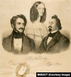 Тереза де Джули-Борси с партнерами