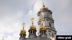 Колокольня Почаевской лавры