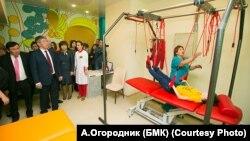 Открытие реабилитационного центра в Улан-Удэ