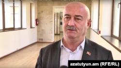 Депутат правящей фракции «Мой шаг» Овик Агазарян (архив)