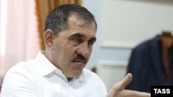 Yunus-Bek Yevkurov cautioned that the 14, who he claims were trained by foreign intelligence services, can draw on a network of support personnel and relatives.
