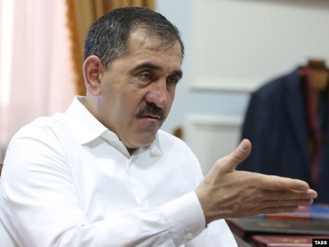 Ingushetia's leader Yunus-Bek Yevkurov