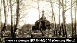 Фарфоровское кладбище в 1940 году