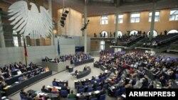 Заседание Бундестага, Берлин, 24 апреля 2015 г.