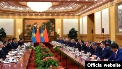 Казак-кытай сүйлөшүүлөрү. Бээжин, 31-август, 2015-жыл.