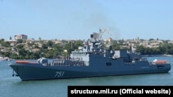 Российский фрегат «Адмирал Эссен», архивное фото