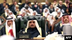 The Emir of Qatar, Sheikh Tamim bin Hamad bin Khalifa al-Thani at the 34th summit of the Gulf Cooperation Council (GCC)