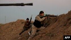 Borbe u Iraku, ilustracija