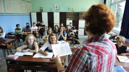 """Prvi dan škole u OŠ """"Isak Samokovlija"""" u Sarajevu 2012. godine, ilustrativna fotografija"""
