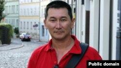 Журналист Лұқпан Ахмедьяров. Германия, 27 тамыз 2012 жыл.