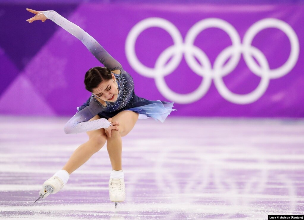 2017 жылғы әлем чемпионы Ресей олимпиадалық атлеттер командасының мүшесі Евгения Медведова 81,61 ұпаймен екінші орында келеді. Бұрынғы әлем рекорды осы Медведоваға тиесілі еді. 21 ақпан 2018 жыл.