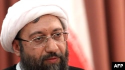 Iran's new chief of the judiciary, Ayatollah Sadeq Larijani