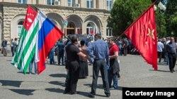 Валерий Бганба сообщил, что может встать вопрос вхождения Абхазии в Таможенный и Евразийский союзы, но для этого потребуется, чтобы республику признали входящие в них страны