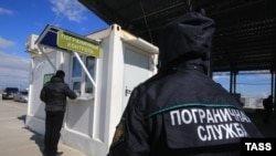 Адміністративний кордон із Кримом, російська сторона