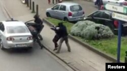 Задержание одного из подозреваемых в причастности к взрывам в Брюсселе (Андерлехт, 8 апреля 2016 года)