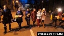 Фотагалерэя: вечарам на вуліцах Кіеву