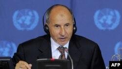 Глава ливийского Национального переходного совета Мустафа Абдель Джалиль