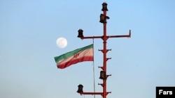 Flamuri iranian - fotografi ilustruese