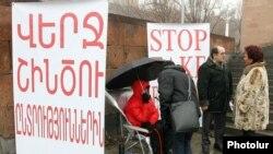 Андриас Гукасян проводит голодовку