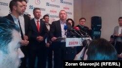 Vrh Demokratske stranke nakon izbora 24. aprila