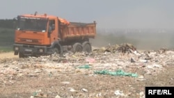 A fire at the landfill in Vinca burned for months in 2017.