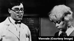 Кадр из фильма «Чокнутый профессор»