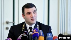 Armenia - Prosecutor-General Gevorg Kostanian gives a press conference, Yerevan, 25Jun2014..
