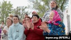 Собрание граждан в селе Атамань Генического района, 20 апреля 2016 года