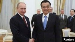Ռուսաստանի նախագահի և Չինաստանի վարչապետի հանդիպումը Կրեմլում, Մոսկվա, 14-ը հոկտեմբերի, 2014թ․