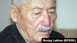 Рамазан Керімбайұлы, 88 жастағы Алматы тұрғыны. Алматы, 29 қазан 2012 жыл.