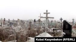 Юго-западное кладбище в Бишкеке
