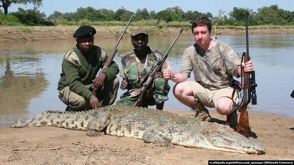 Aleksander Shilin's social-media accounts featured numerous photographs of him in exotic locations, standing with rifle in hand over the carcasses of big-game animals.