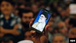 Despite the fact that Twitter is banned in Iran, many hard-line Iranian politicians, including Supreme Leader Ayatollah Ali Khamenei, use the social network to reach out to their supporters with statements and messages. (file photo)