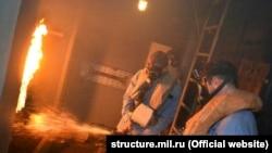 Учения экипажа патрульного корабля Черноморского флота «Василий Быков»